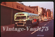 Duplicate Slide Bus Gmc 4063 Mabstoa New York City 1960'S M-106