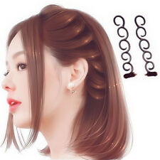 Color Random Accessories French Trendy Hook Hair Braider Braiding Tool Weave