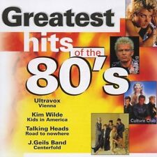 Greatest Hits of the 80's Ultravox, Culture Club, Billy Idol, Duran Duran.. [CD]