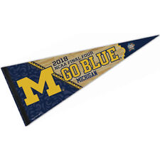 Michigan Wolverines 2018 Final Four Pennant Flag