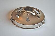 Classico Stile Antico Vetro Cromato Luce Ombra GALLERY 4 1/4 di pollice paralume Nr9
