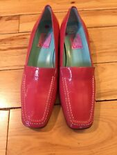LILLY PULITZER Pink Loafer Shoes Women Size 9.5 M New