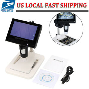 1000X USB Digital Microscope for Electronic Accessories Coin Inspection 8 LED US