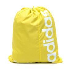 New adidas Linear Drawstring Gym Bag Sack  Yellow   swimming sports shoes