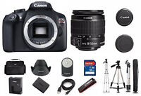 Canon EOS Rebel T6 Digital SLR Kit w/ EF-S 18-55mm IS II Lens 1159C003AA Bundle