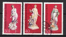 Germany / Berlin - 1974 Porcelain - Mi. 478-80 VFU