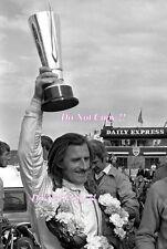 Graham Hill victoria retrato F1 BRDC International Trophy 1971 fotografía 2