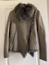 Muubaa Shearling Leather Jacket