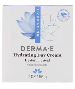 Derma E Hydrating Day Cream Vegan Hyaluronic Acid Green Tea **SAME DAY SHIPPING*