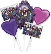Descendants 2 Birthday Mylar Bouquet Balloons Party Decoration Set of 5