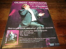 GILBERT MONTAGNE - Publicité de magazine CONCERT OLYMPIA !!!!!!!!!!!!!