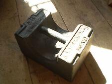 Vittoriano Ghisa 56 lb, sterlina, peso, porta TAPPO,1860 circa, Peso Sollevamento