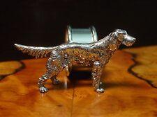 Silver Pewter IRISH SETTER DOG Napkin Ring ~ Buy One or Many