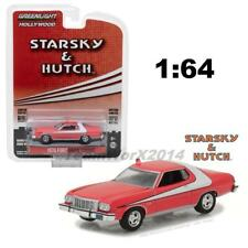 GREENLIGHT 44780 A 1976 FORD GRAN TORINO STARSKY AND HUTCH DIECAST CAR 1:64