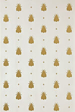 Farrow and Ball 100% Finest Ingredients Painted Wallpaper Bumble Bee BP507