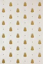 Farrow and Ball 100% Finest Ingredients Painted Wallpaper Bumble Bee BP 507