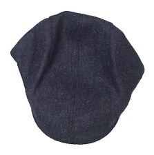 Brand new men's Barbour herringbone tweed flat cap