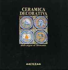 Ceramica decorativa dalle origini al Novecento.
