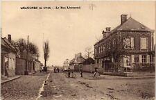 CPA   Chaulnes en 1914 - La Rue Lhomond (514536)