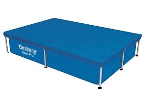 Bestway - 7ft by 3ft Rectangular Frame Debris Pool Cover for Above Ground Pools