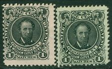 USA : 1864. Scott #RO82b, c. Both Very Fine. Catalog $46.00.