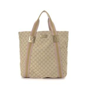 GUCCI Medium GG Canvas Tote/Shoulder Bag
