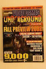Video Games Underground Magazine, September 2002