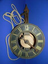 Buco Swiss Wood Gear Wall Clock_4154