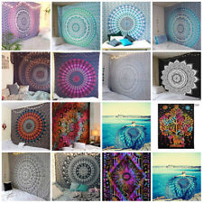 Wholesale Lot 10 Pcs Indian Mandala Tapestry Wall Hanging Decor Single Bedspread