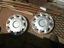 "Classic Austin Rover Mini 12"" OEM Wheel Trims x 2"