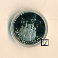 1984 *Jacques Cartier* Canadian Nickel Dollar (OOAK)