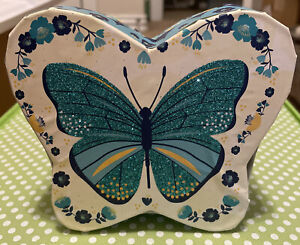 New Beautiful Glittered Butterfly Gift Box Made Of Cardboard And Paper