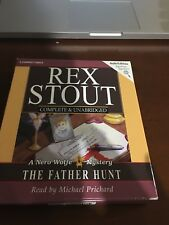 FATHER HUNT NERO WOLFE MYSTERIES By Stout Rex