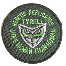 "Blade Runner Tyrell Corporation Logo 3"" Round Uniform Patch-FREE S&H (BRPA-04)"