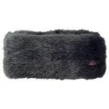 BARTS NEW Womens Fur Headband Grey BNWT