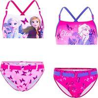 Costume da bagno bambina Frozen 2 pezzi bikini bimba mare piscina 4 5 6 8 anni