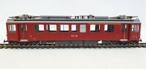 BEMO 1265/1  RhB Triebwagen ABe 4/4 501 dunkelrot     Neu, H0m, OVP