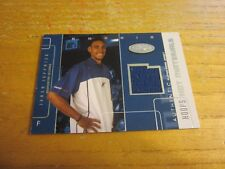 Jared Jeffries 2002-03 Hoops Hot Prospects Hot Materials #39 Relic Card Wizards