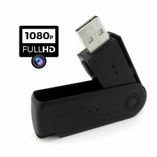 FULL HD 1080p Spy Camera Covert Chiavetta USB VIDEO FOTO REGISTRATORE DVR Nascosto