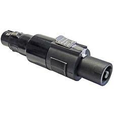 KEEPDRUM ADA038 Speakon-Adapter 3-polig XLR Female zu Speakon Stecker