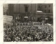 3 Photos 1940s WWII PORTLAND OREGON War Bond Drive VICTORY CENTER Downtown