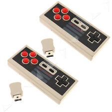 2x Wireless Gamepad Joystick Controller für Nintendo Mini Classic NES Console