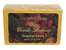 Camille Beckman Glycerine Bar Soap 3.5 oz – Oriental Spice Scent