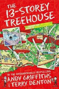 Brand New The 13-Storey Treehouse by Andy Griffiths
