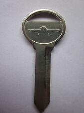 Ford Thunderbird Boot Key Blank with Thunderbird Logo suit 1965 to 1979 NOS
