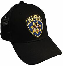 California Highway Patrol CHP Hat Black Trucker Cap