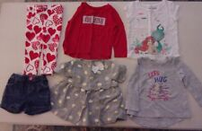 Girls Infant Toddler Assorted Clothing Tops Shorts Leggings s/ 18 - 24 mths