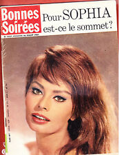 SOPHIA LOREN<<<<<  JUILLET 1961< BONNES SOIREES