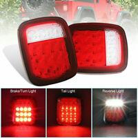 LED Tail Light Rear Light Brake Reverse Turn Signal Indicator fit Jeep Wrangler