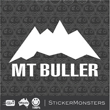 Mt BULLER Skiing Sticker Decal 130mmW SKI X Car Van Laptop Rossignol K2 Head